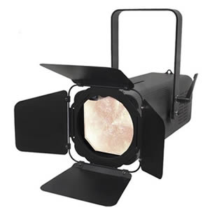 Variable white LED Fresnel for Hire in Kent