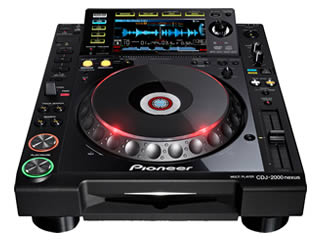 Club Standard CD, MP3 & Digital Media Player for Hire in Kent