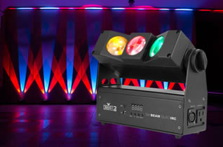Chauvet SlimBEAM Quad IRC for hire in Kent
