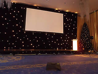Starcloth Backdrop for Hire in Kent