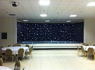 Starcloth Backdrop for Hire in Sevenoaks, Kent