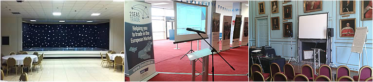 Conference and Event Equipment to Hire in Kent