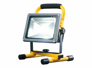 Powerful Battery Powered Floodlight for Hire in Kent