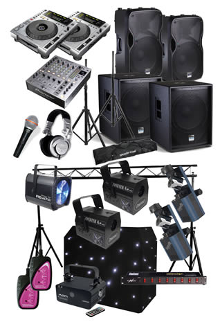 Hire a Large Disco Package in Kent