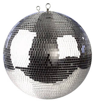 Disco Mirror Balls for hire in Kent