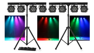 Small Band Lighting Packages to rent in Kent