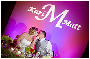 Monogram or Logo Projection Lighting in Kent
