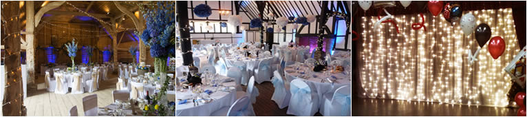 Party and Event Lighting Hire in Kent