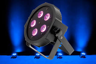 LED Lighting for Hire - Low Profile Tri-Led Par Cans