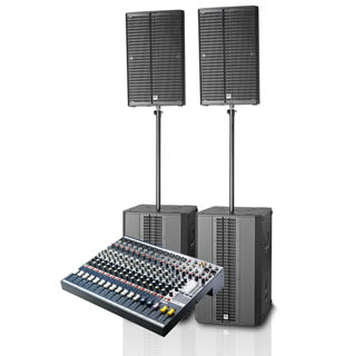 Medium Band PA package for Hire