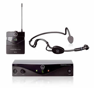 AKG Perception Wireless Sports Set for hire in Kent