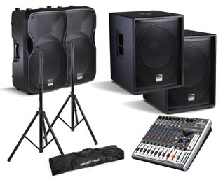 Hire Small Band PA Package in Kent
