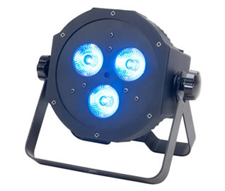 Compact Quad-LED wash light for Hire