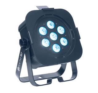 Medium powered Tri-LED wash Fixture for Hire
