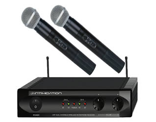 Cordless Microphones for hire in Kent